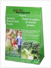 Sprouted Broccoli powder organic - 100g | NutraSprout