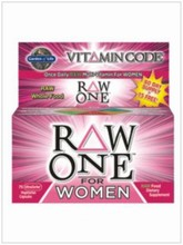 VITAMIN CODE Raw ONE NG for WOMEN 75vcaps. - Garden of Life