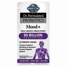 Dr. Formulated ProbioticsMC Mood+ 50 Billion, 60 VCaps
