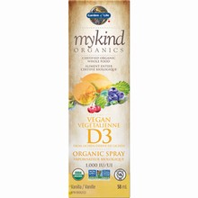 mykind Organics - Vitamin D3 Organic Spray - Vanilla, 58 ml