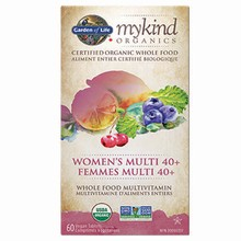 mykind Organics - Multivitamin - Women's Multi 40+, 60 Vegan Tabs