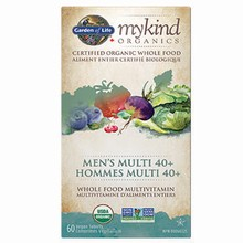 mykind Organics - Multivitamin - Men's Multi 40+, 60 vegan tabs