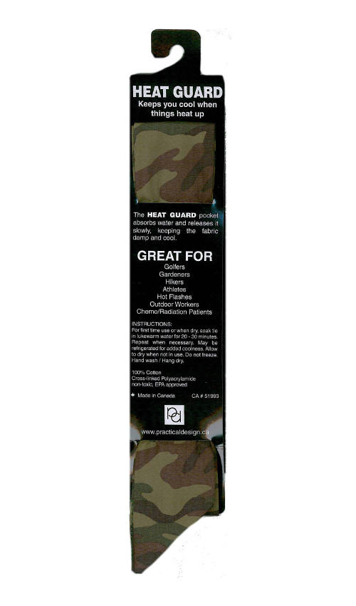 Cooling Tie - 231 Green Camo
