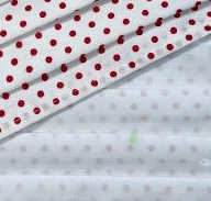 Face Mask - 589 Red Dot & White