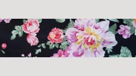 Cooling Tie - 607 Black Bouquet