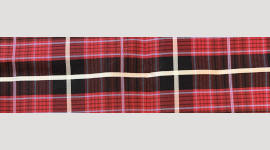 Cooling Tie - 651 Red Plaid