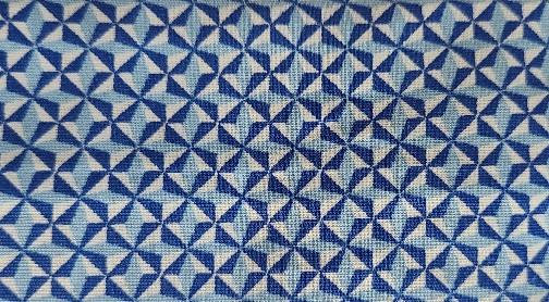 Cooling Tie - 665 Blue Pinwheel