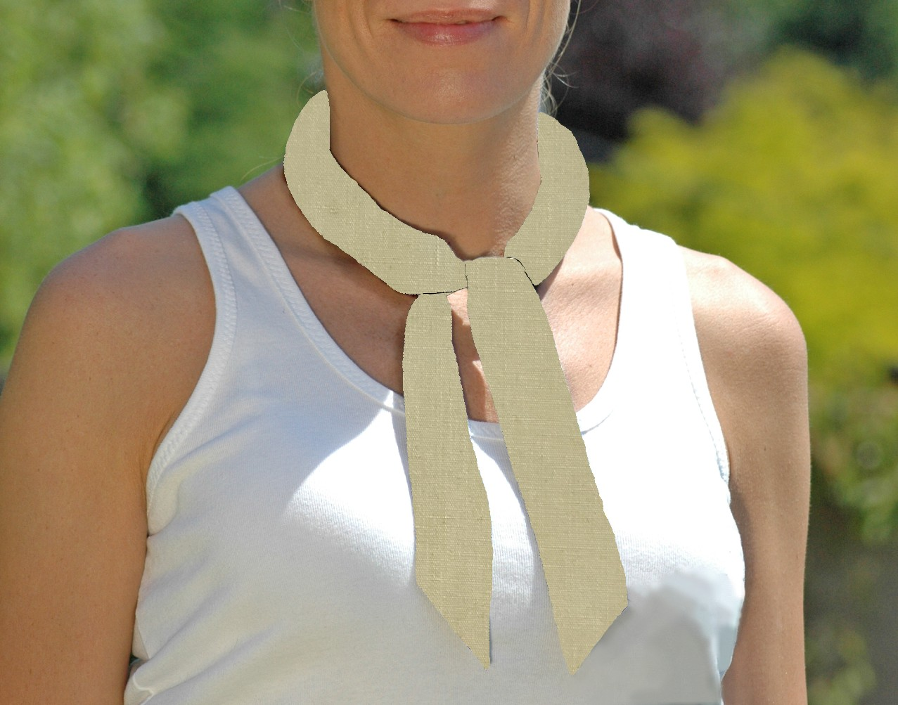 Cooling Tie - 667 Pastel Yellow