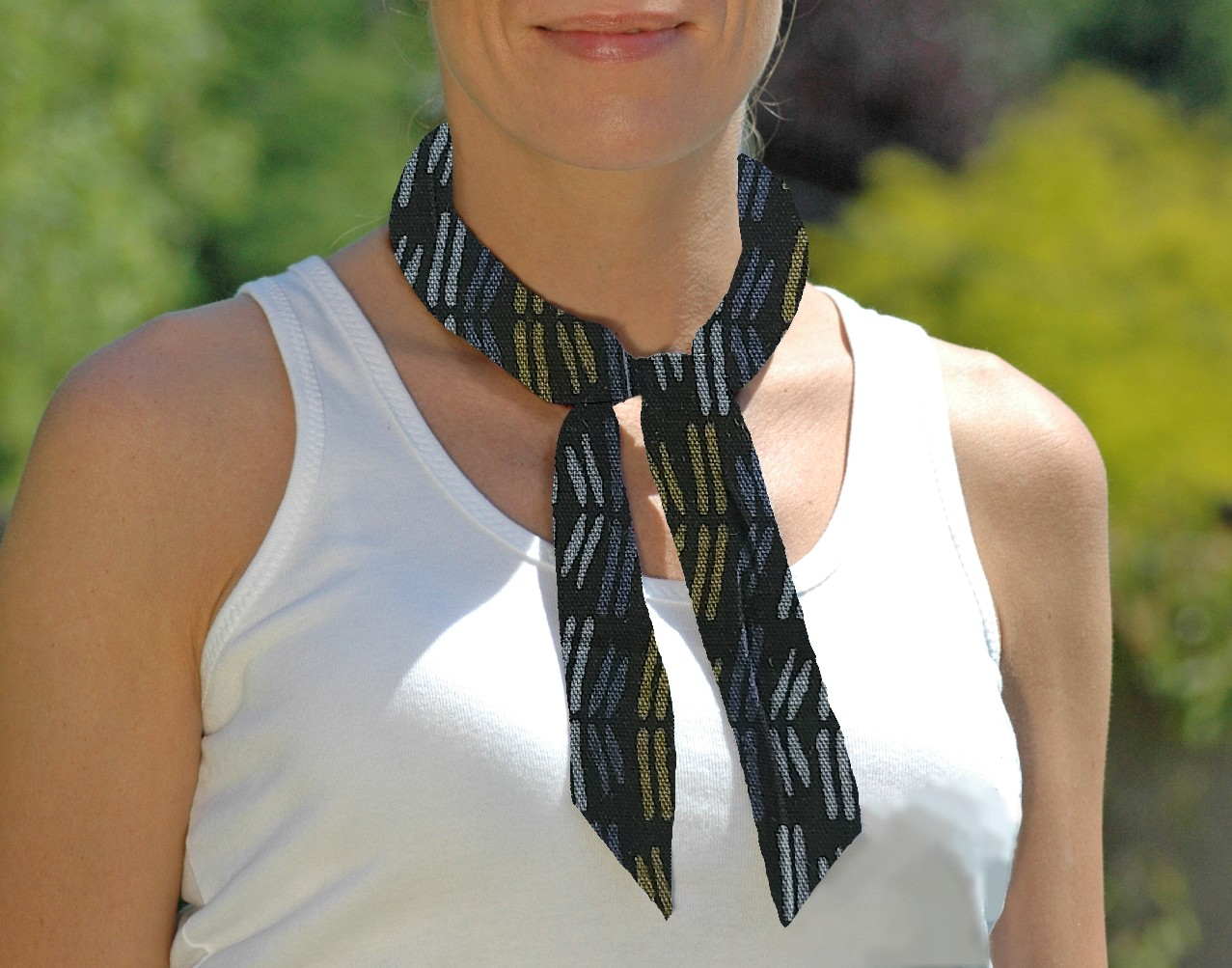 Cooling Tie - 674 Tribal Lines