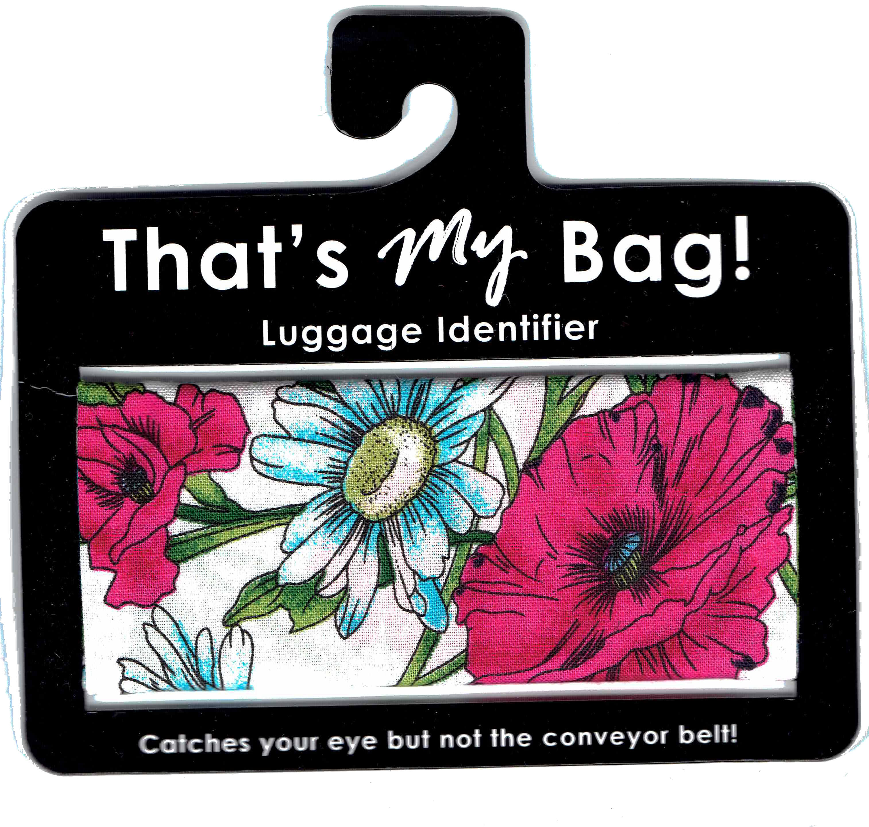 That's My Bag - L034 Blue & Pink Flowers